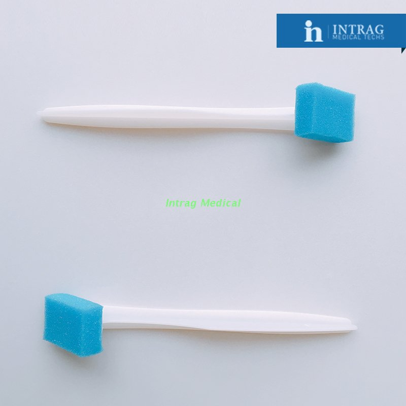 Disposable Applicator Cleaning Sponge Brush