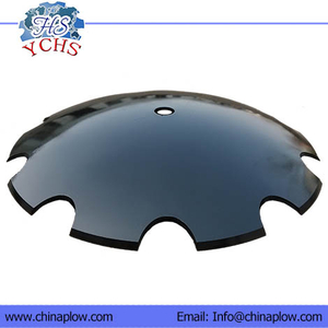 Notched Harrow Disc Blade