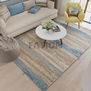 5'×8' Machine Tufted Polypropylene Rug