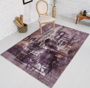 Modern Home Decor Floor Carpet Print Rug