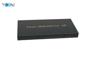 1080P HDMI Switch 1X8 Support 3D with 8 Ports