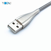 Silvery Color Spring USB Cable for Type C