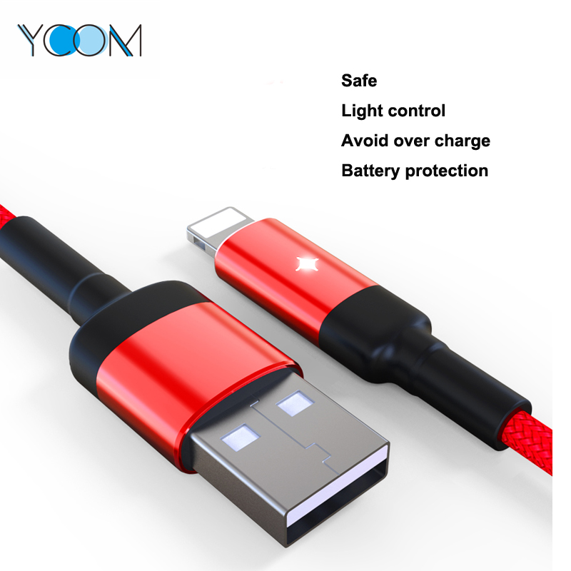 Intelligent Power Cut Off USB Cable for Lightning