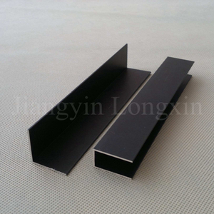Black Anodized Aluminum Profile for Windows