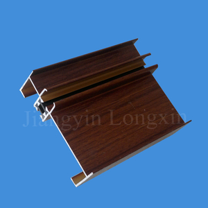 Wooden-Grain Transfer Aluminum Frame for Windows