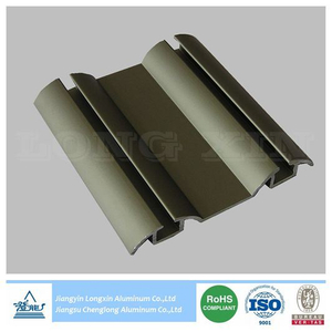 Champagne Anodized Aluminium Frame for Sliding Door