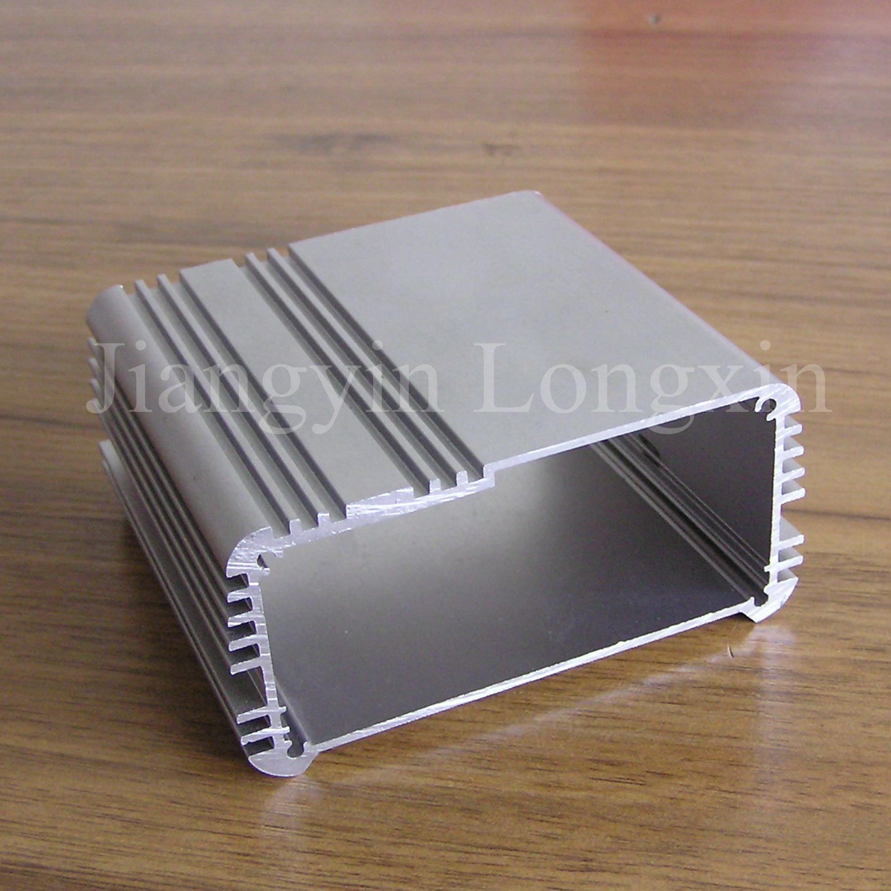 Sliver Anodized Aluminium Profile for Heatsink