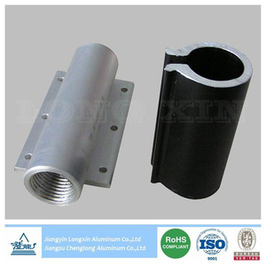 Aluminium Round Pipe Machined