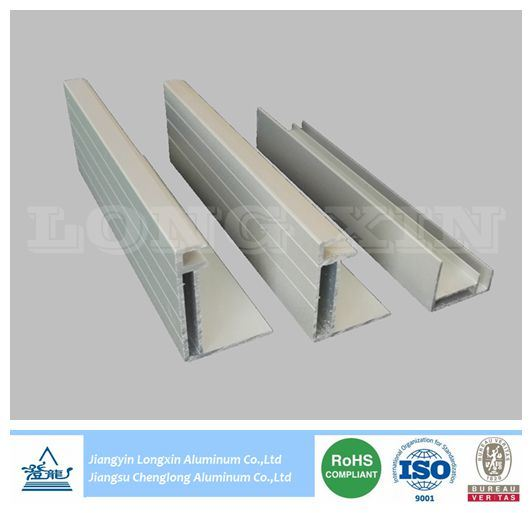 Sliver Anodized Aluminium Frame for Solar Panel