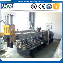 Parallel Co-rotating Twin Screw Extruder Plastic Compound Machine for White Masterbatch