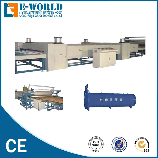 PVB Laminated Glass Curing Autoclave Machinery