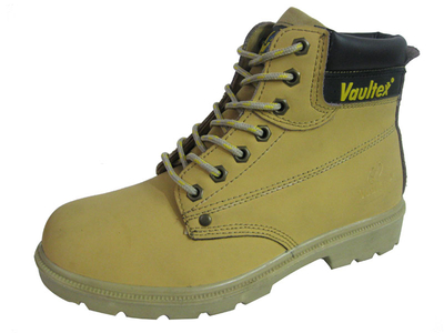 PU nubuck leather vaultex brand safety shoes