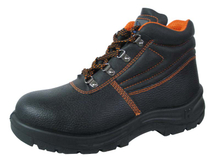 6 months guarantee desma injection leather safety shoes