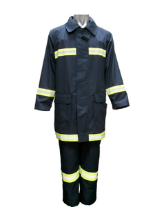 Safety fire fighter suit for firemen