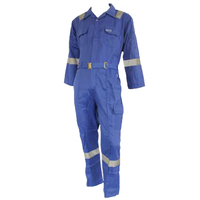 M1105 Royal blue reflective safety workwear