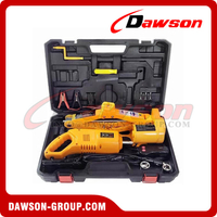 12V DC 2T Electric Scissor Jack with Electric Impact Wrench