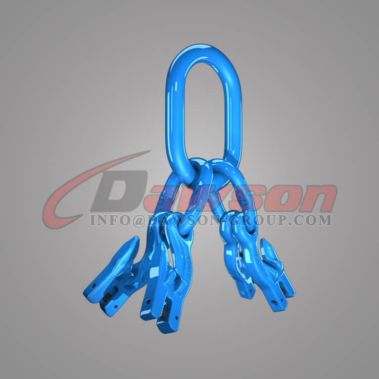 Grade 100 Master Link Assembly + Grade 100 Eye Grab Hook with Clevis Attachment×4 Dawson Group Ltd. - China Manufacturer, Factory, Exporter