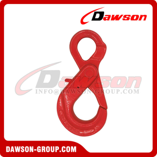 DS289 G80 Italy Type Eye Self-locking Hook for Crane Lifting Chain Slings