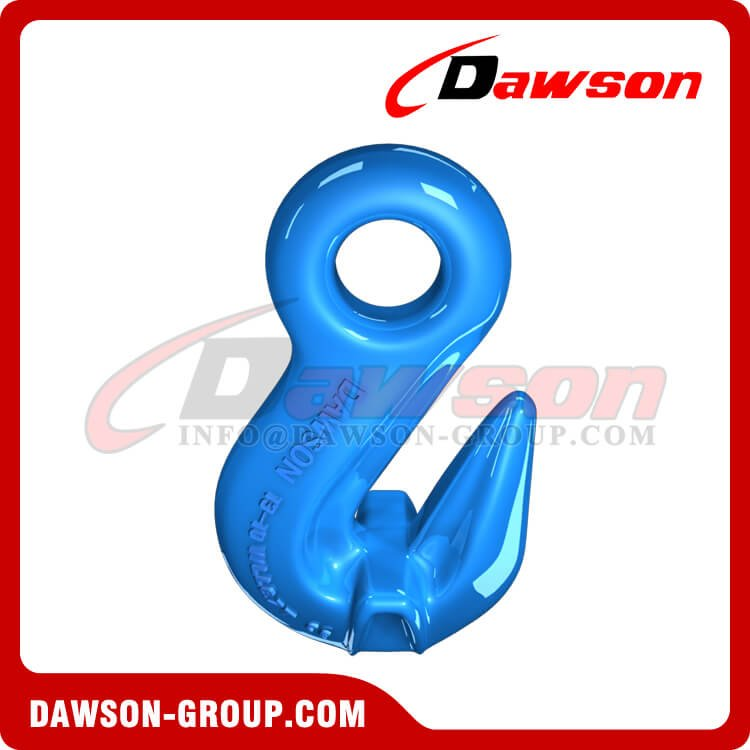 G100 Eye Shortening Cradle Grab Hook with Wings, Grade 100 Forged Alloy Steel Eye Hook for Crane Lifting Slings - Dawson Group Ltd. - China Supplier, Exporter