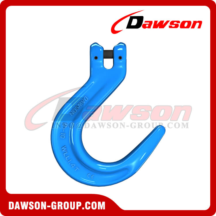 Grade 100 Forged Steel Clevis Foundry Hook, G100 Clevis Type Large Opening Hook - Dawson Group - China Factory