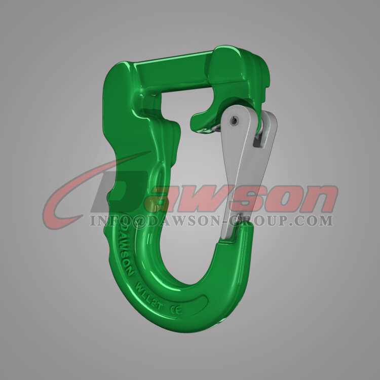 G100 Web Sling Hook, Grade 100 Synthetic Alloy Round Sling Hook - Dawson Group Ltd. - China Supplier
