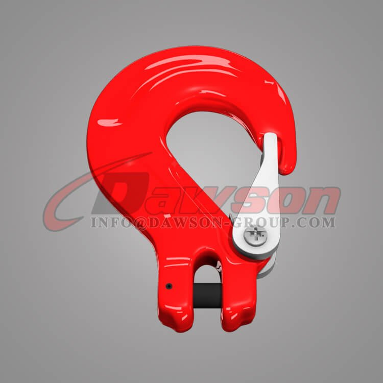 G80 Clevis Sling Hook with Cast Latch for Chain Slings, Grade 80 Clevis Hook - Dawson Group Ltd. - China Factory, Exporter