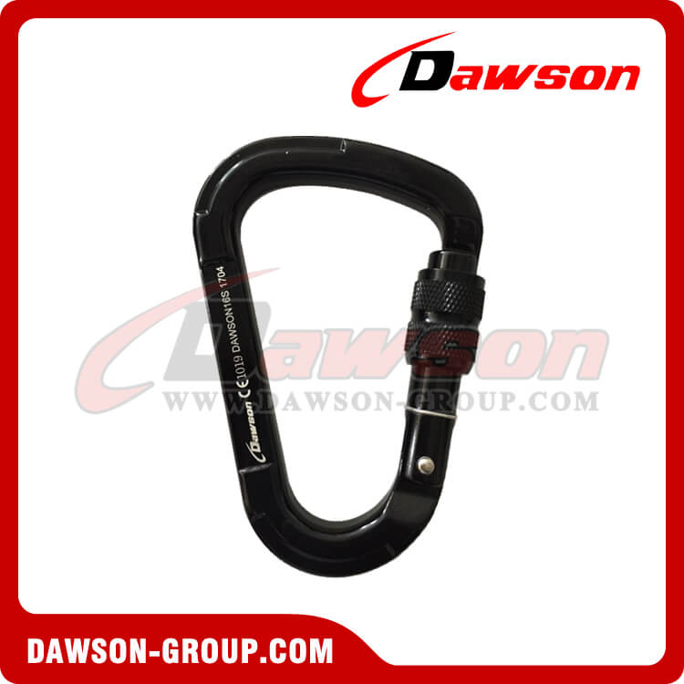 Alloy Aluminum Rebar Carabiner Snap Hooks - China Factory