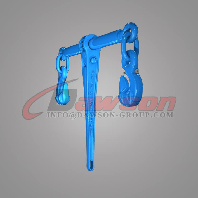 Grade 100 Forged Ratchet Type Load Binder with Safety Hooks for Lashing - Dawson Group Ltd. - China Factory