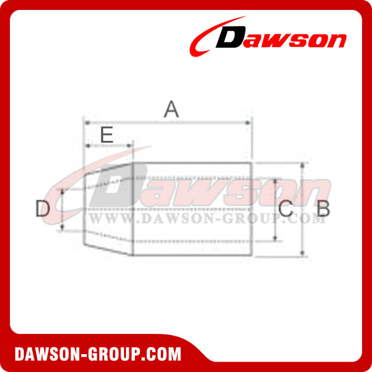 FLEMISH EYE STEEL SWAGING SLEEVES(S-505) - DAWSON-GROUP LTD. - CHINA SUPPLIER