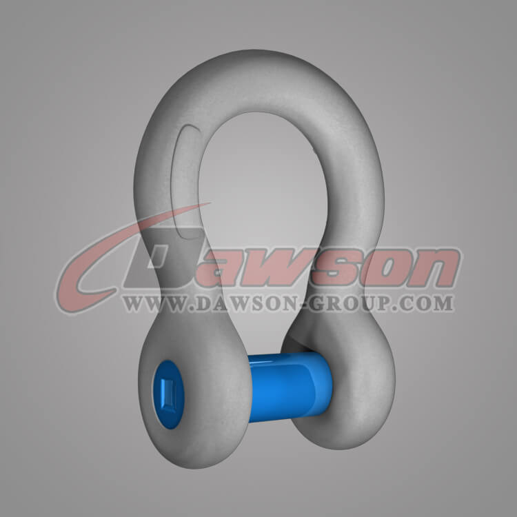 Forged Trawling Bow Shackle with Sunken Pin - China Manufacturer Factory