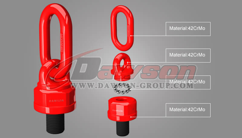 G80 Lifting Screw Point, Grade 80 Swivel Lifting Points - China Manufacturer Supplier, Factory