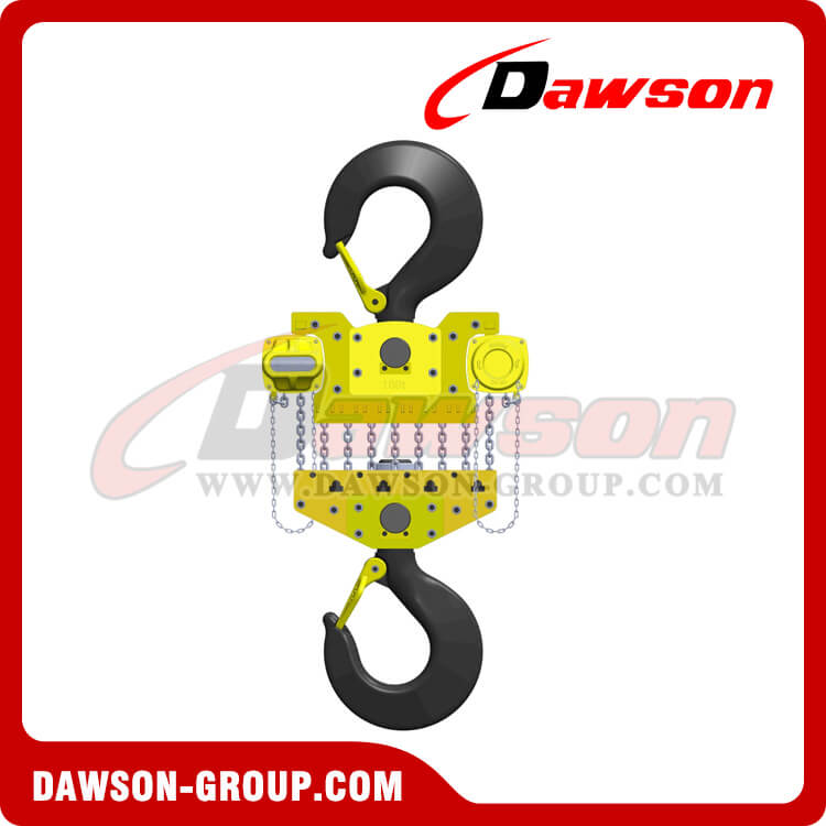 DS-DF-D 100T Chain Hoist, Heavy Duty Chain Block for Lifting