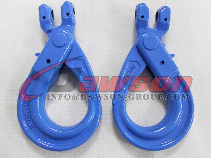 G100 European Type Forged Clevis Self-Locking Hook for Lifting Chain Slings - Dawson Group Ltd. - China Exporter