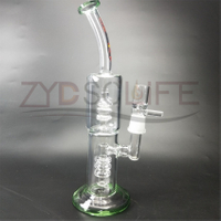Oil Rig Glass Smoke pipe
