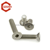 metric ISO10642 stainless steel hex socket csk head screw for pipe