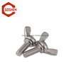 ASME B 18.17 3/8 stainless steel wing bolt for air cleaner