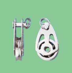 S/S SINGLE BALL BEARING BLOCK WITH PIN
