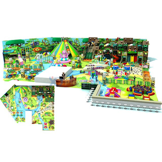 Jungle Themed Multifunctional Gym Kids Indoor Playground