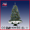 (40110U150-GS) Indoor LED Snowing Christmas Tree with Flying Snowflakes and Music
