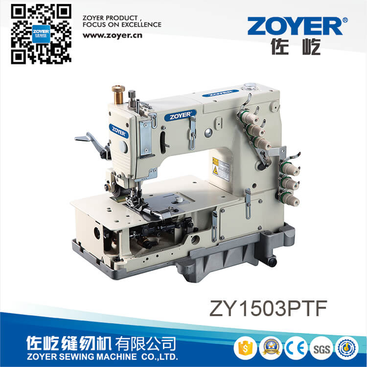 ZY1503PTF Zoyer 3-needle machine for lap seaming