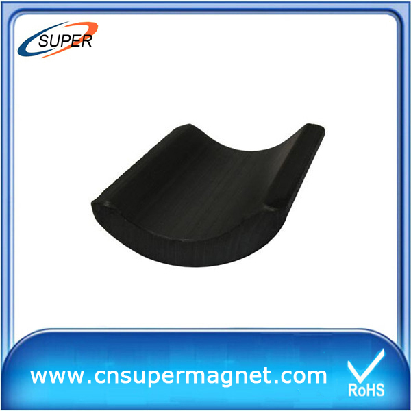 china Y30 arc ferrite magnet manufacture