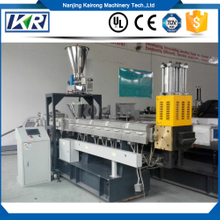 CaCO3/Tlac Filler Masterbatch Plastic Compound Machine/PE+20%-80%Calcium Carbonate Filler Masterbatch Twin Screw Extruder