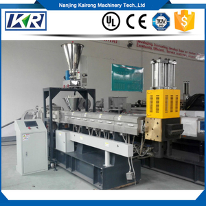 EVA Pellet Extruder Shoe Sole Making Underwater Pelletizing Plastic Compound Machine