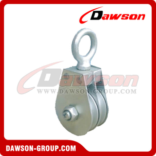 DS-B188 Swivel Eye Flat Block Double Sheave