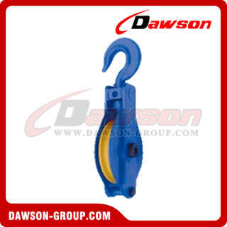 DS-B176 WHB200 Pulley Single With Hook Close Type