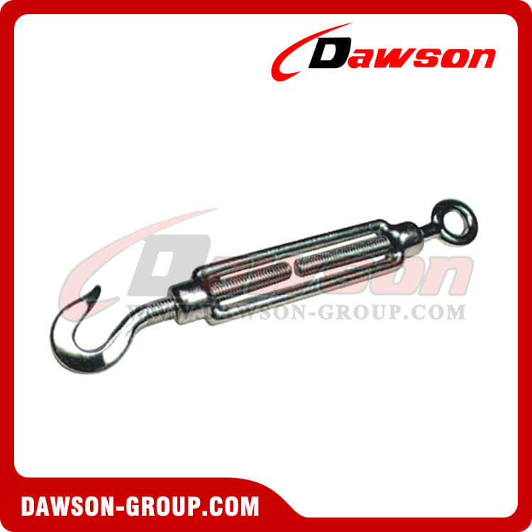 Stainless Steel DIN 1480 Turnbuckle