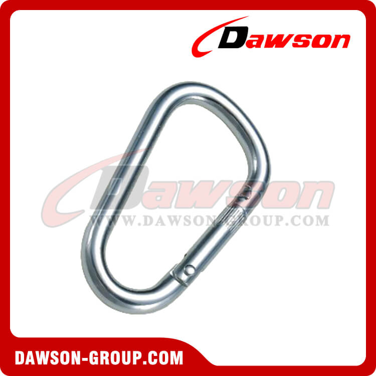 Stainless Steel D Type Snap Hook