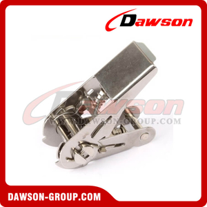 DSRB25081SS B/S 800KG/1760LBS Stainless Steel Ratchet Buckle