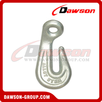 G80 / Grade 80 Forged Alloy Steel Eye Bend Hook for Lashing and Pulling
