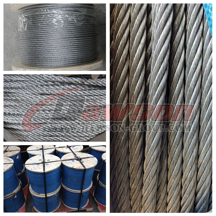 Steel Wire Rope 6×19+FC -China manufacturer supplier